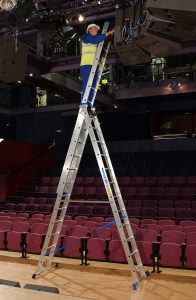 Zarges Trade Skymaster freestanding (theatre)